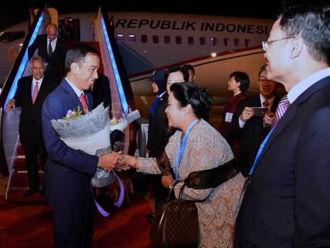 Jokowi dibeijing