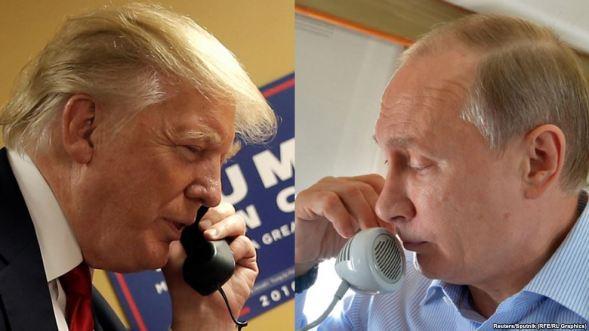 Tromp phone Putin