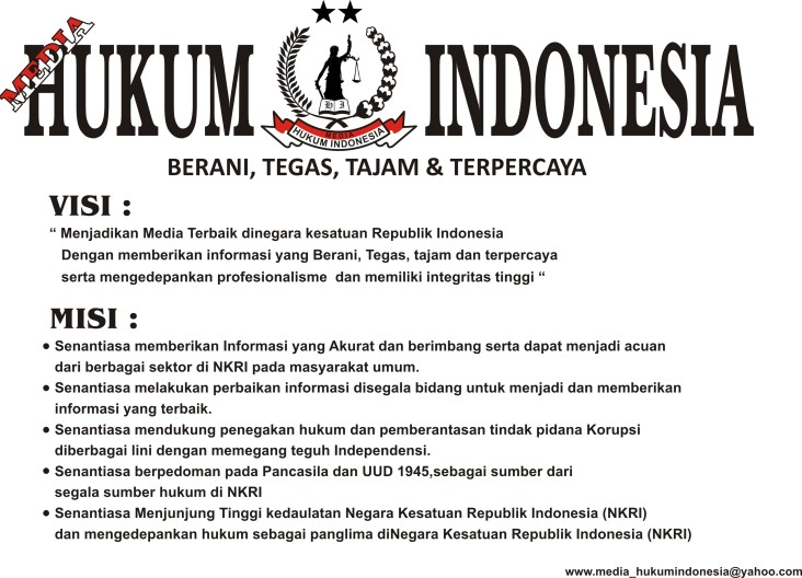 VISI & MISI MEDIA HUKUM INDONESIA