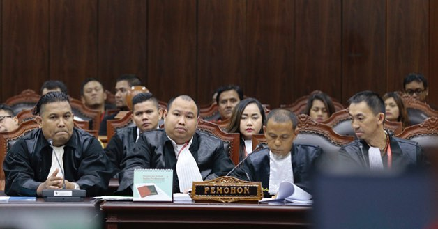 Hasil gambar untuk Uji UU LLAJ pada sidang lanjutan di Ruang Sidang Pleno MK
